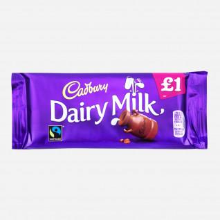Cadbury Dairy Milk Tafel