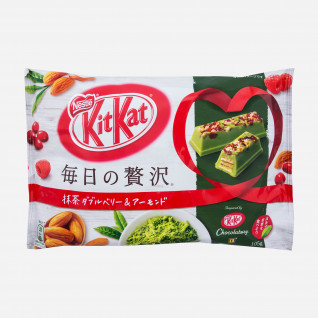 Kit Kat Matcha Almond Cranberry