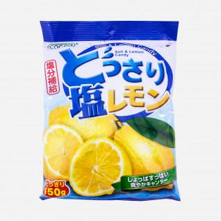 Zitronen-Salz Bonbons