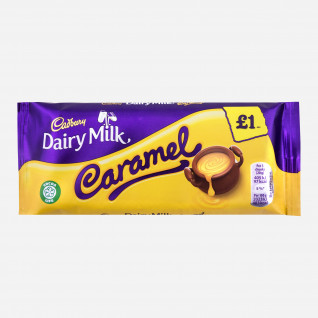 Cadbury Dairy Milk Caramel Tafel