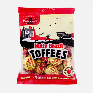 Walkers Nutty Brazil Toffees