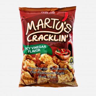 Martys Cracklin Spicy Vinegar