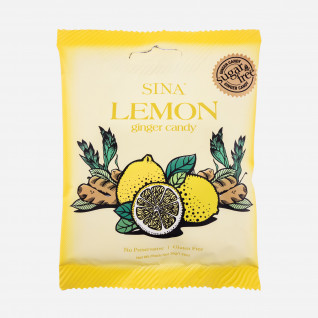 Sina Lemon Ginger Candy