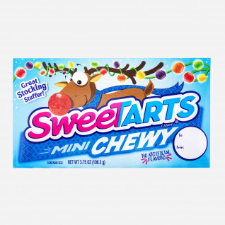 Mini Chewy Sweetarts Christmas Theatre Box