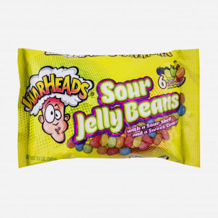 Warheads Sour Jelly Beans Peg Bag