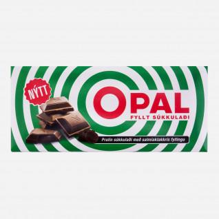 Opal green Schokolade