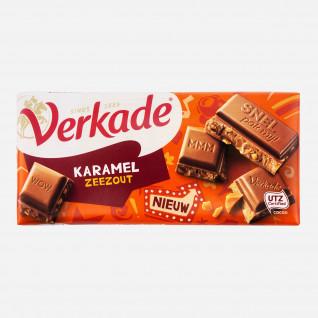 Verkade Karamel Meersalz Schokolade