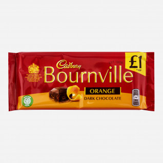 Cadbury Bournville Orange Dark