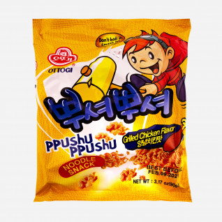 Ppushu Ppushu Noodle Snack Grilled Chicken