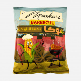 Mooka Corn Chips BBQ