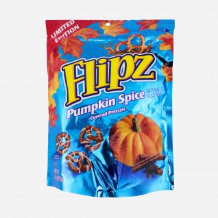 Flipz Pumpkin Spice Coverd Pretzels
