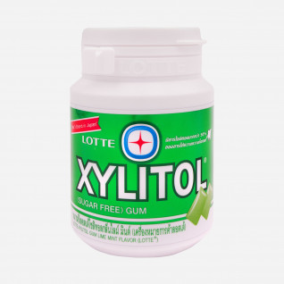 Lotte Xylitol Lime Mint