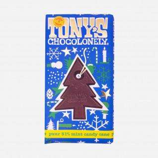 Tonys Puur Choc Mint Candy Cane