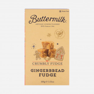 Buttermilk Crumbly Gingerbread Fudge