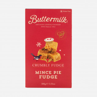 Buttermilk Crumbly Mince Pie Fudge