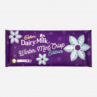 Dairy Milk Winter Mint Crisp Edition