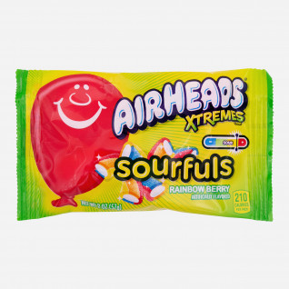 Airheads Extremes Sourfuls Rainbow Berry