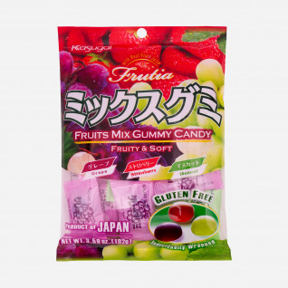 Kasugai Fruits Mix Gummy Candy