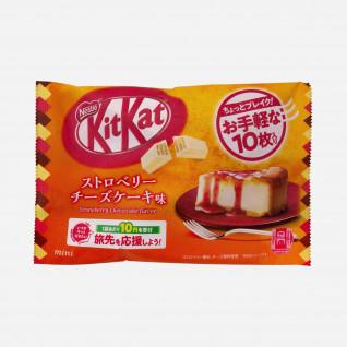 Kitkat Mini Strawberry Cheesecake