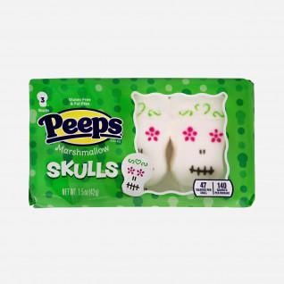 Peeps Marshmallow Skulls